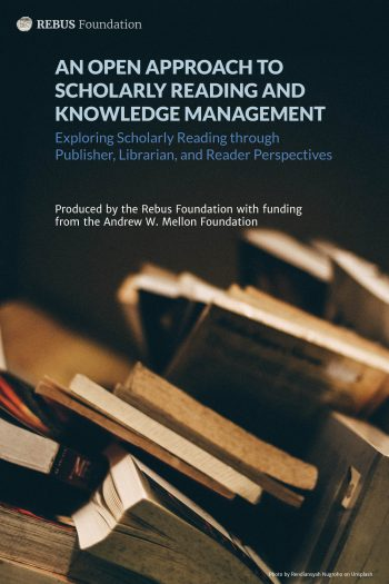 Cover image for An Open Approach to Scholarly Reading and Knowledge Management